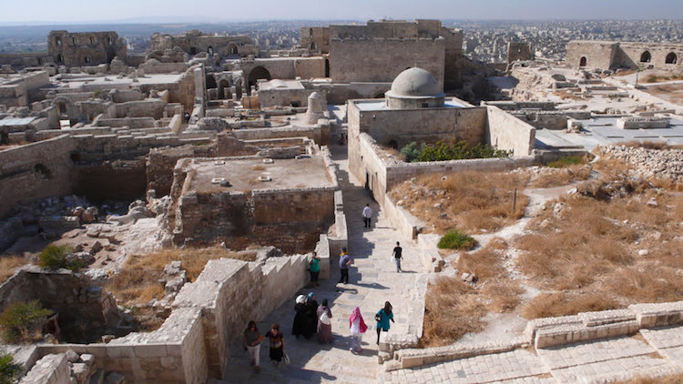 suriye'nin en önemli kültürel miras alanları