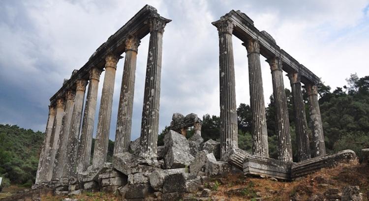 Muğla'daki Görkemli Zeus Tapınağı Restore Edilecek