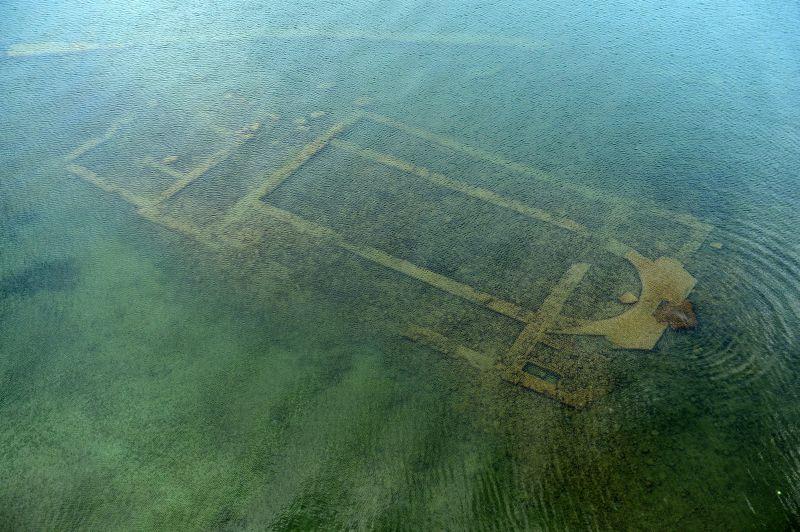 İznik Gölü'nün Altındaki 1500 Yıllık Bazilika Ziyarete Açılıyor