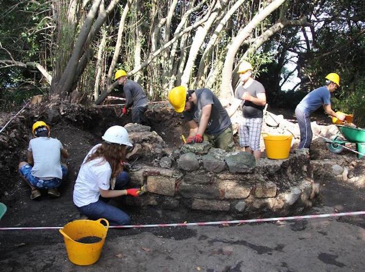 Kazıların Sürdüğü Giresun Adası'nda Arkeoloji Ekibi Mahsur Kaldı