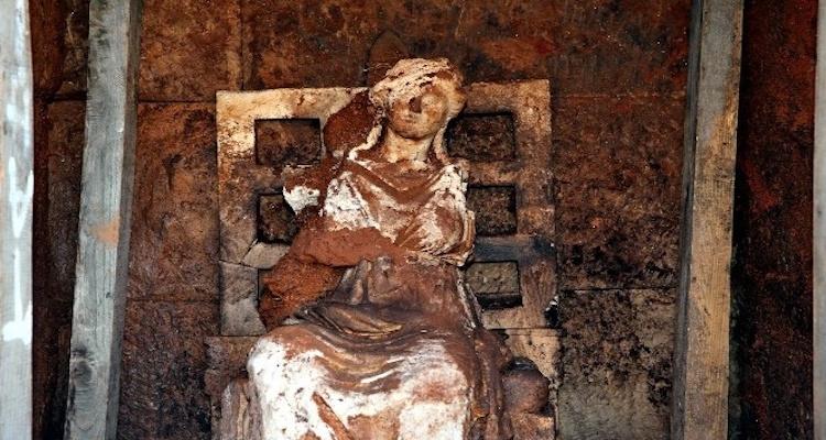 ordu'da tanrıça kibele heykeli bulundu