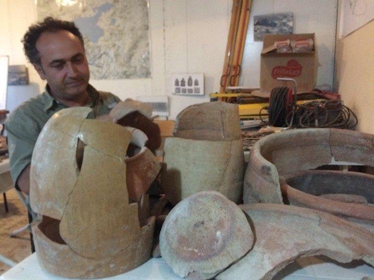 Urartuların 2800 Yıllık Süt ve Peynir Kapları Günümüzdekilerle Aynı