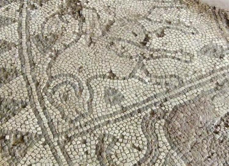 Kütahya'da Yanan Bir Evin Altında Çıkan Mozaikler 1800 Yıllık Çıktı