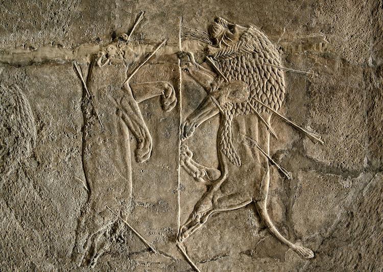 Asur Krallarının Aslan Avı Geleneği