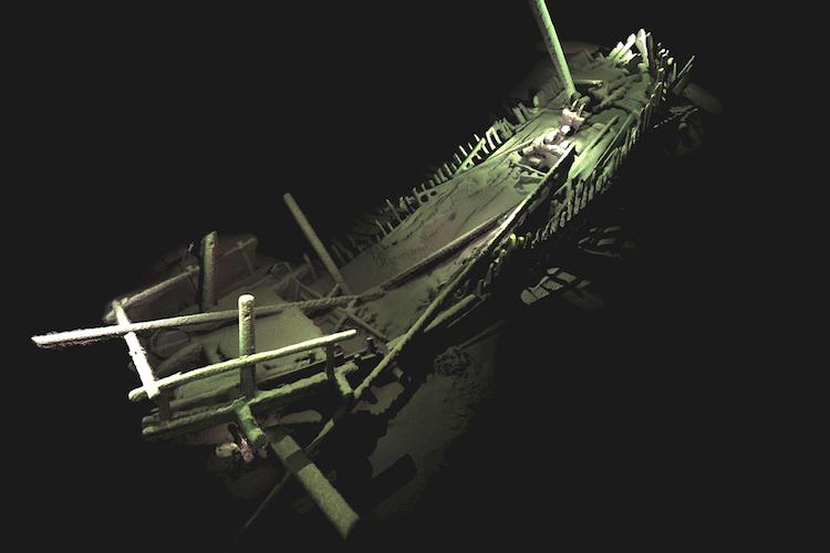 karadeniz'in dibinde osmanlı gemileri bulundu