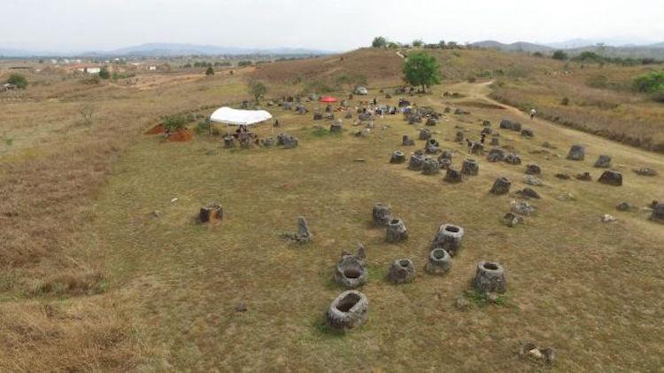 Laos'taki Arkeolojik Alan Sanal Gerçeklik Ortamına Aktarıldı