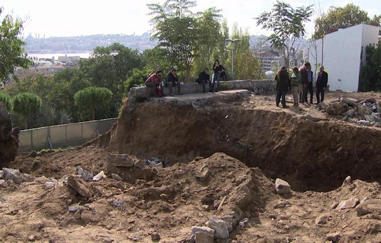 Roma Parkı'nda Sosyal Tesis Kazıları Müze Denetiminde Yapılacak