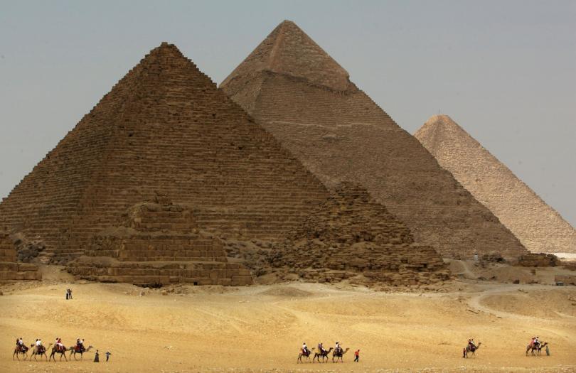Gize Piramitleri / Reuters
