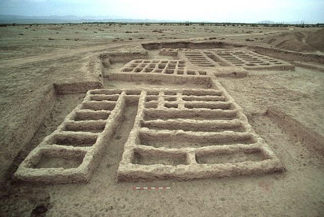 Muskanın bulunduğu Pakistan Mehragarh'taki arkeolojik alan.