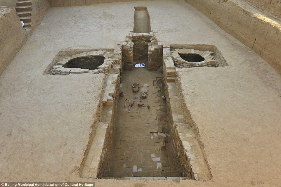 Çin'in Başkenti Yakınlarında Büyük Bir Antik Kent ve Bin Adet Mezar Bulundu
