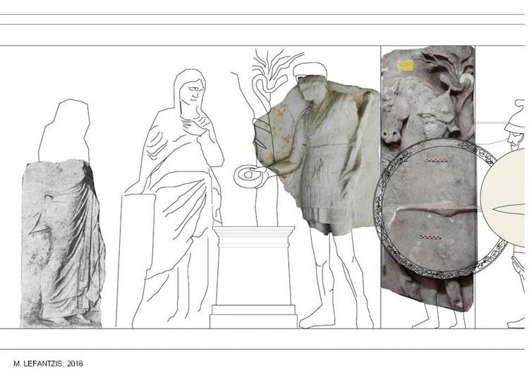 Amphipolis Mezarına Ait Bazı Parçaların İstanbul'da Olduğu İddia Edildi