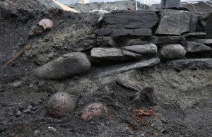 Norveç'te Viking kralı Olaf 2. Haraldsson'ın aziz ilan edildikten hemen sonra gömüldüğü kilise bulundu.