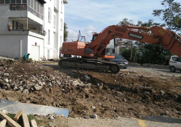 Cihangir'deki Roma Parkı'na Sosyal Tesis İnşaatı için Soru Önergesi Verildi