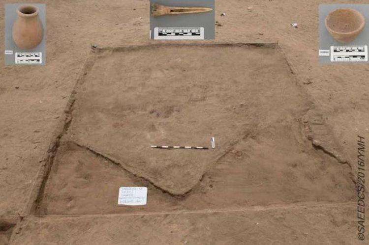Günlük faaliyetlere dair eşyaların bulunduğu alanlardan biri. F: Mısır Eski Eserler Bakanlığı