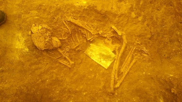 Kastamonu'da karanlık çağ'a tarihlenen kurgan bulundu