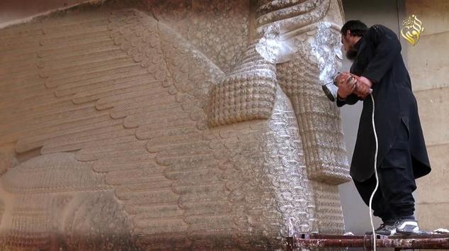Irak'taki Nimrud Antik Kenti IŞİD'in Elinden Kurtarıldı