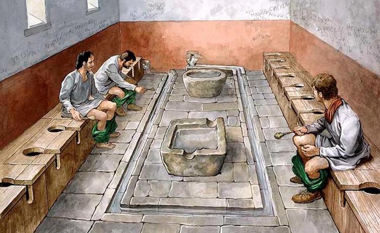 Tarih Boyunca Tuvalet Kullanımı