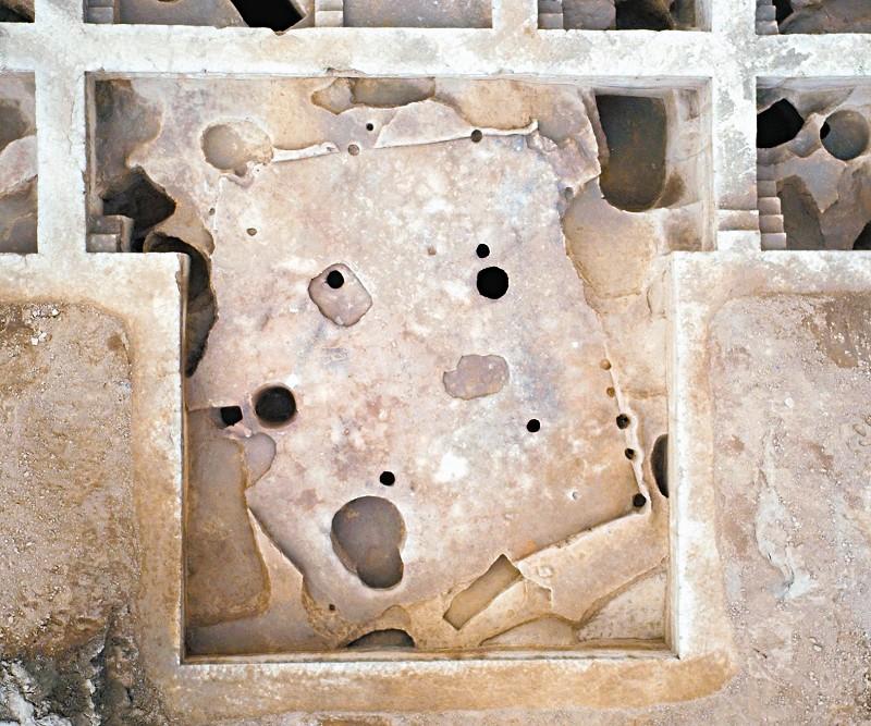 çin'de 6000 yıllık beşgen şeklinde kamusal yapı keşfedildi