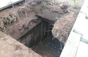 4 Aralık 2016'da Güneybatı Çin'in Sichuan kentinde köylüler tarafından tesadüf eski mezarlık bulundu.