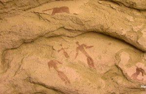 sahra çölü'nde 5000 yıllık doğuş sahnesi bulundu