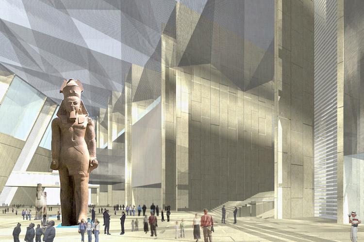 Büyük Mısır Müzesi 2018'de açılıyor.