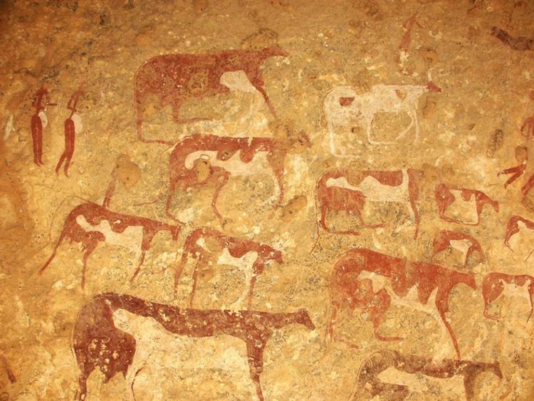 Gilf Kebir'deki kaya resimleri tarihlendirildi.