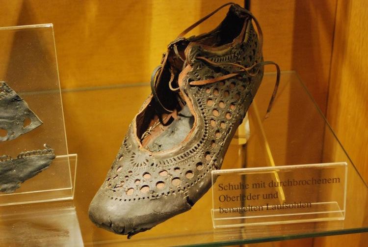 saalburg'ta 2000 yıllık deri ayakkabı bulundu