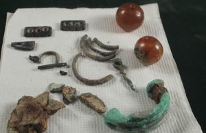 gavar'da urartu eserleri bulundu