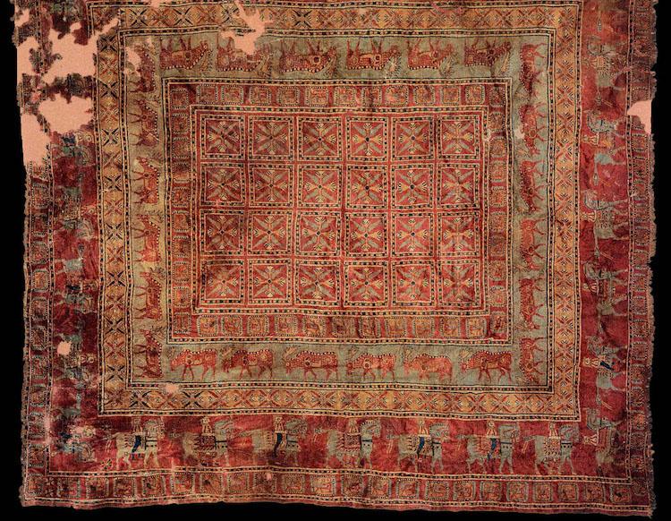 2500 yıllık pazırık halısı