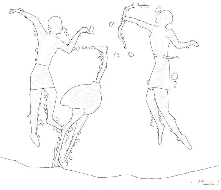 Mısır'da Neolitik Döneme Ait Ritüelistik Kaya Resimleri Bulundu