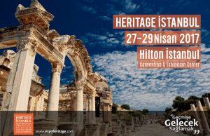 heritage istanbul 2017 fuarında Arkeofili