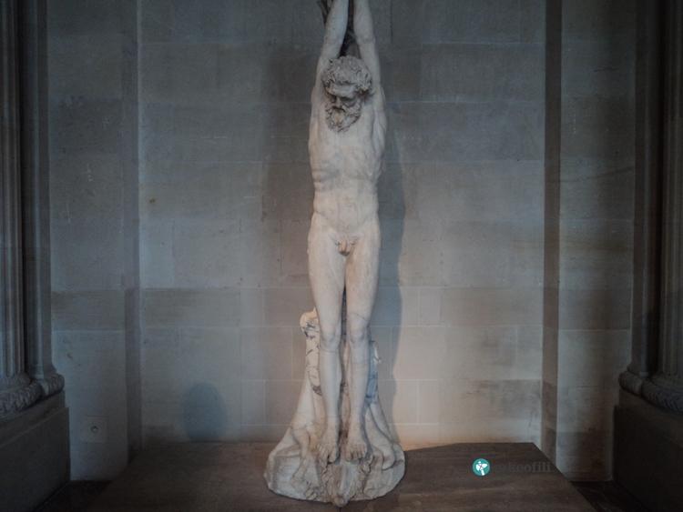 Marsyas heykeli, Louvre Müzesi