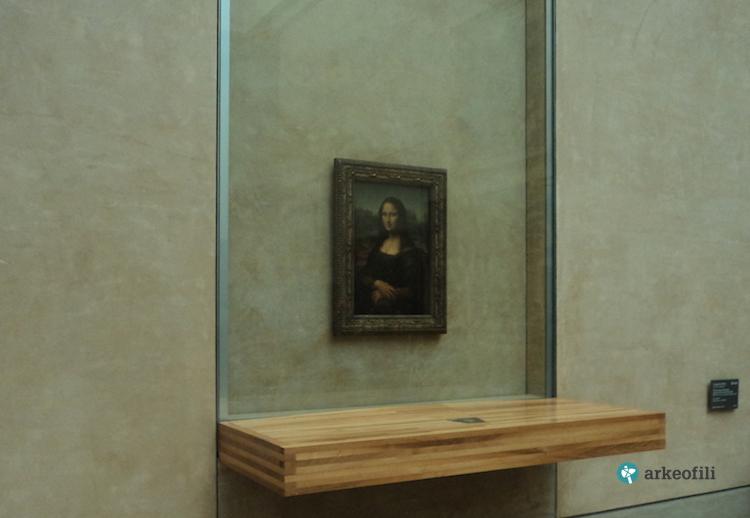 Mona Lisa, Louvre Müzesi