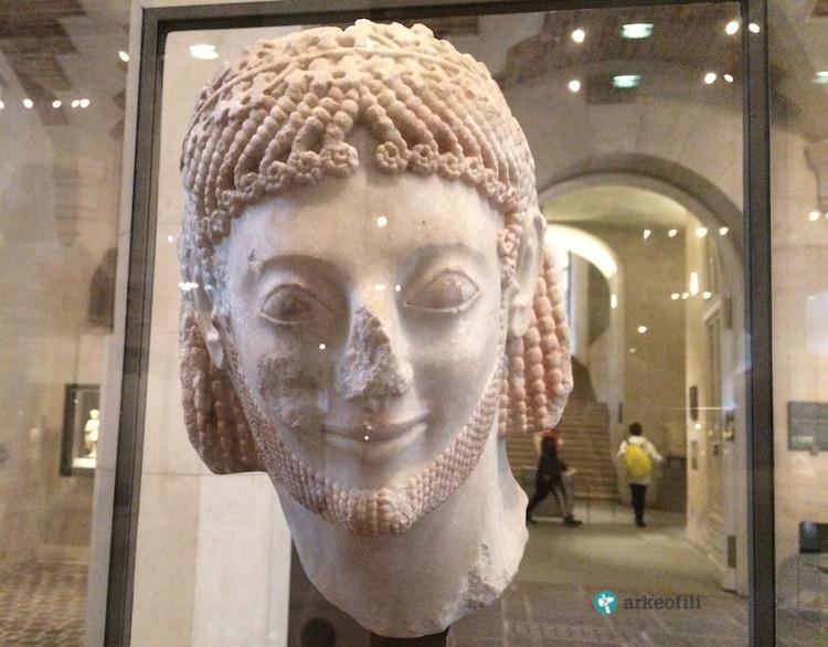 Rampin Binicisi, Louvre Müzesi