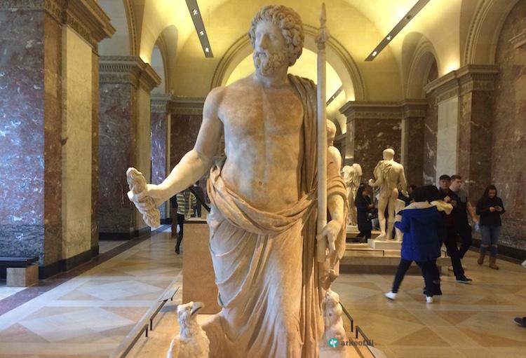 Zeus heykeli, Louvre Müzesi