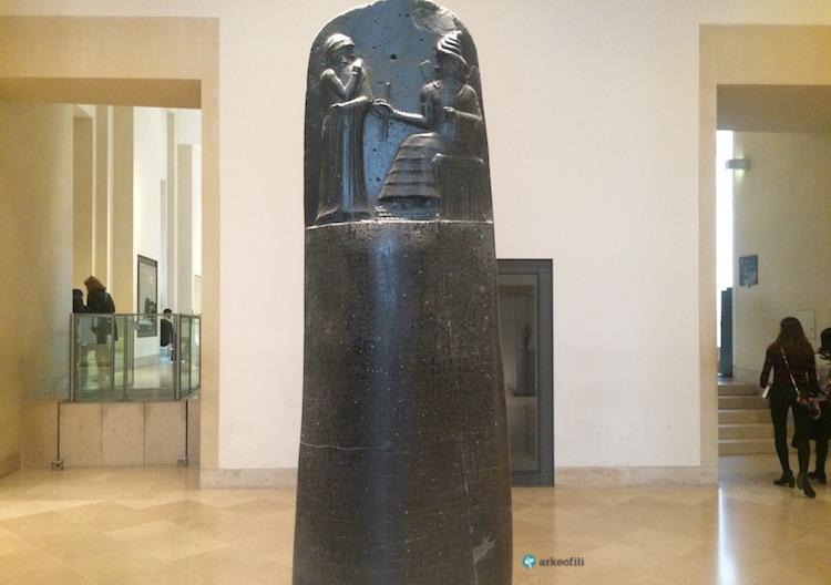 Hammurabi Kanunları, Louvre Müzesi