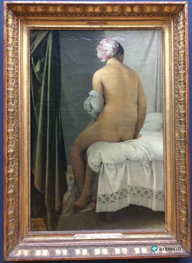 Yıkanan Kadın (The Bather), Louvre Müzesi