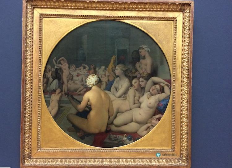 Türk Hamamı (Turkish Bath), Louvre Müzesi