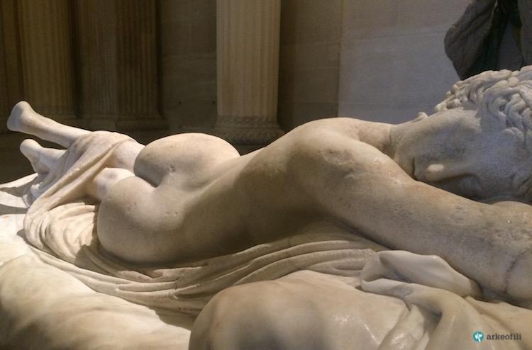 Uyuyan Hermafrodit, Louvre Müzesi