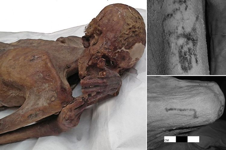 The Oldest Tattoo Art Found in the Egyptian Mummy - image tatt1 on https://archaeologys.com