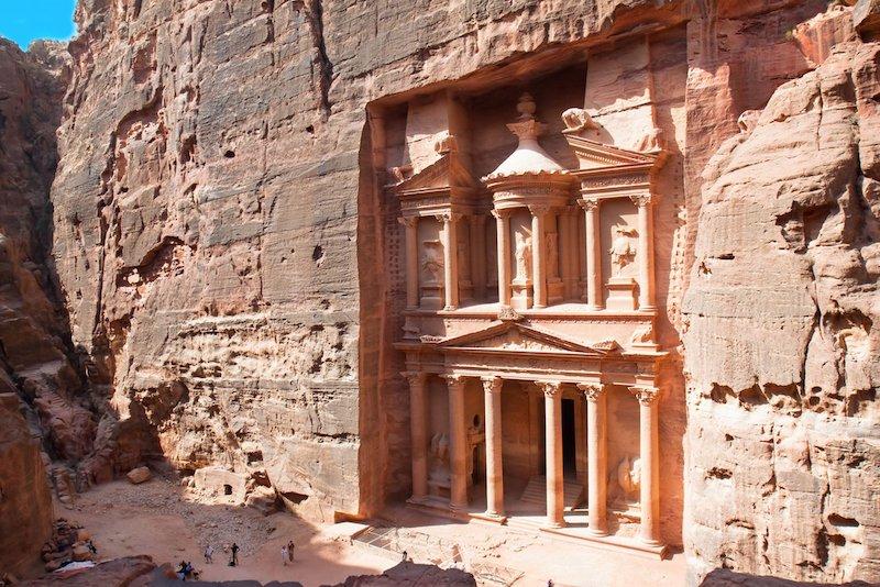 Petra: Kayaya Kurulmuş Bir Antik Kent | Arkeofili