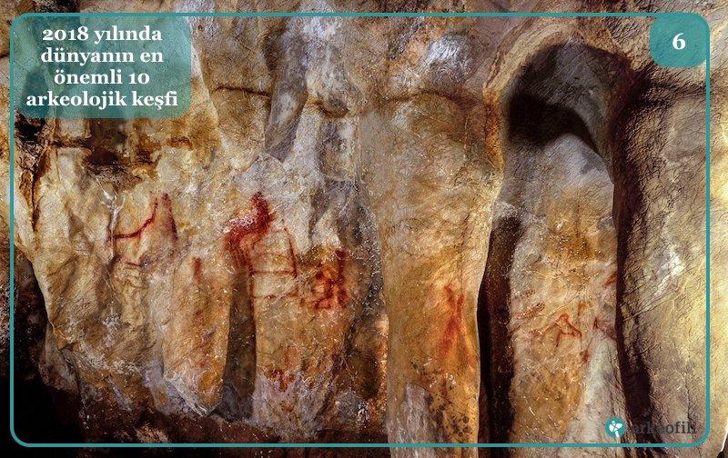 Neandertallerin yaptığı mağara resimleri
