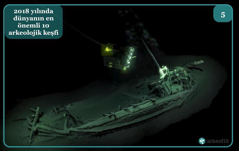 Karadeniz'de en eski tüm halde batık