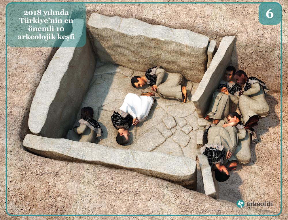 Başur Höyük 5.000 yıllık kurban edilmiş çocuklar