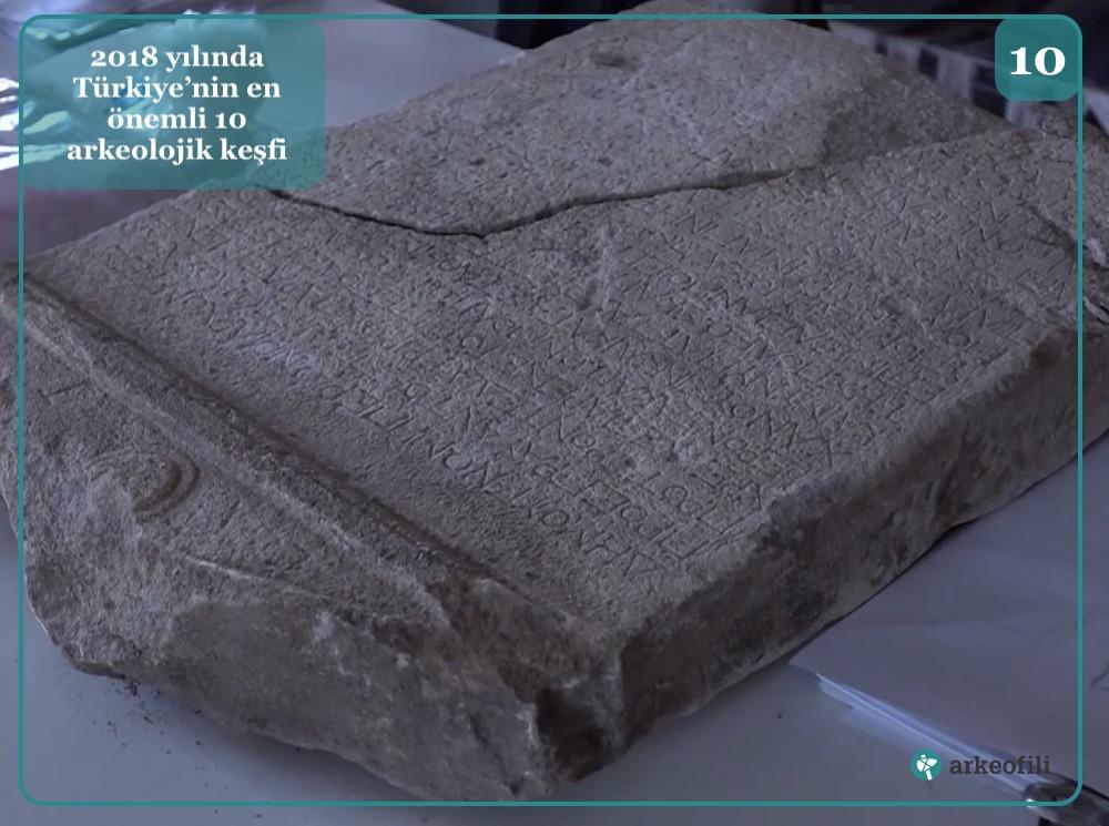 antandros antik kenti 2.200 yıllık dekret