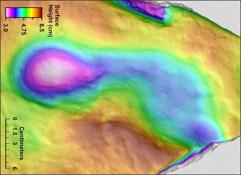 Manisa'nın Kula ilçesindeki ayak izleri, 4.700 yıl öncesinde volkanik patlamayı izleyen insanlara ait çıktı.