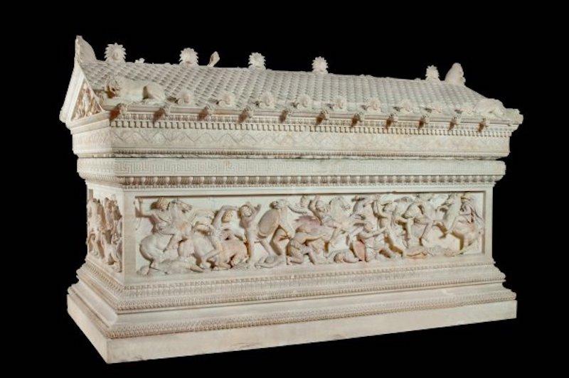 İskender Lahdi (İstanbul Arkeoloji Müzeleri)