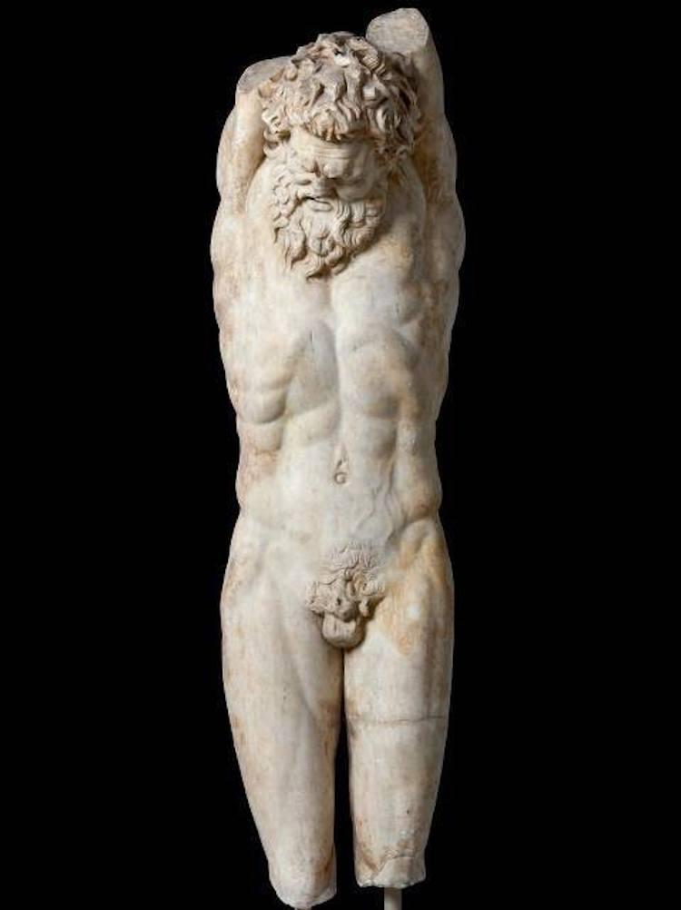 Marsyas heykeli (İstanbul Arkeoloji Müzeleri)