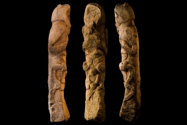 Totem direği (Şanlıurfa Arkeoloji Müzesi)
