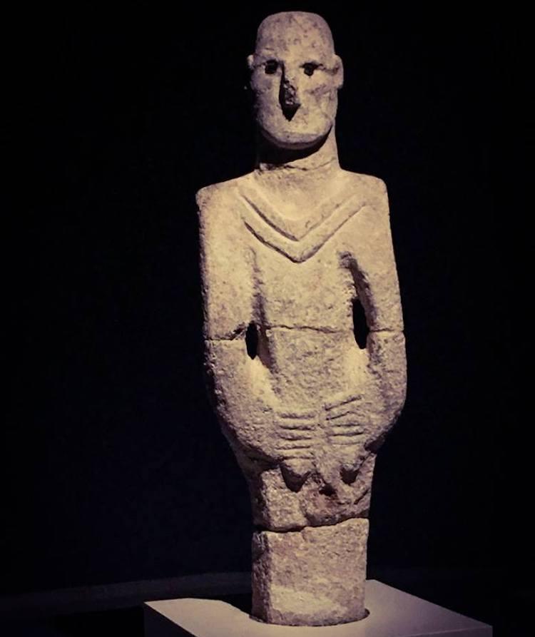 Balıklıgöl Heykeli (Şanlıurfa Arkeoloji Müzesi)